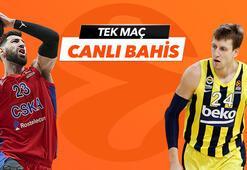 CSKA Moskova - Anadolu Efes maçı Tek Maç, Canlı Bahis ve Canlı İzle seçenekleriyle Misli.comda