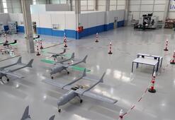 İHA fabrikası Ankarada üretime başladı