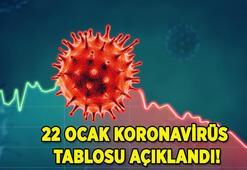 SON DAKİKA    22 Ocak korona tablosu, vaka sayısı ve ölü sayısı açıklandı Türkiye günlük koronavirüs tablosu paylaşıldı