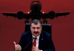 Son dakika haberi | Bakan Koca paylaştı Bir ülkeyle daha uçuşlar durduruldu