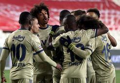Son dakika - Fenerbahçe, küme düşme adaylarına şans tanımadı