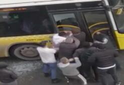 Kağıthaneden sonra Eyüpsultanda İETT şoförüne saldırı