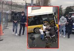Kağıthanede İETT şoförüne saldırmışlardı Flaş gelişme