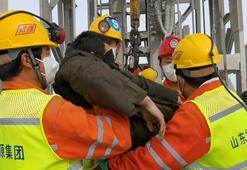 Çinde yerin 600 metre altındaki madenciler kurtarıldı