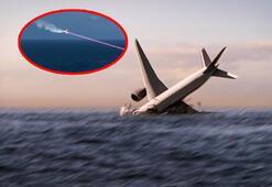 Son dakika... Yolcu uçağı lazer silahıyla vurularak düşürüldü