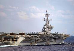 ABD-Çin gerilimi tırmanıyor Uçak gemisi ulaştı
