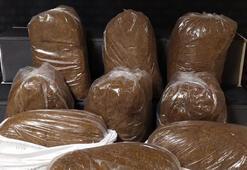 Kırşehirde 150 kilogram kaçak tütün ele geçirildi