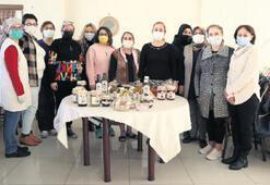 Efe yürekli kadınlar kooperatifte buluştu