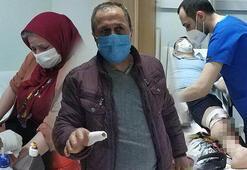 2 aylık bebek 5 kişiyi hastanelik etti