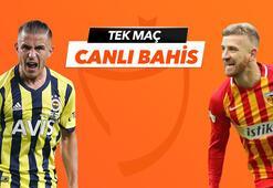 Fenebahçe - Kayserispor maçı Tek Maç ve Canlı Bahis seçenekleriyle Misli.com'da