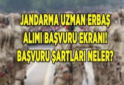 Jandarma uzman erbaş alımı başvuru ekranı (personel temin) için TIKLA: 5 bin JGK uzman erbaş alımı şartları neler