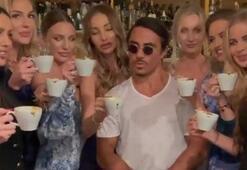 Nusretin Dubaide çektiği kahve videosu olay oldu