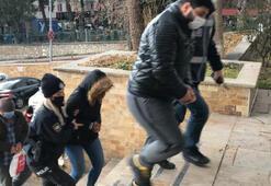 Bilecikte fuhuş baskını 2si bayan, 8 kişi yakalandı