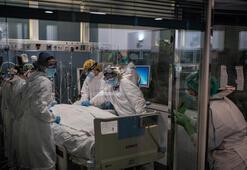 İspanyada hastaneler tıklım tıklım