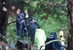 Balıkesirde çöken ahşap köprüden dereye düşen kadın öldü