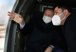 Son dakika... Cumhurbaşkanı Erdoğan Elazığda Deprem konutlarını inceledi