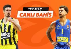 Fenerbahçe Beko - Maccabi Tel Aviv maçı Tek Maç ve Canlı Bahis seçenekleriyle Misli.comda