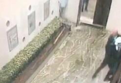 Beşiktaş'ta dehşeti yaşatan saldırganın yakalandığı anlar kamerada
