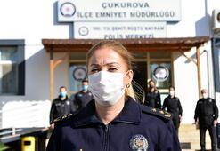 Adana'nın ilk kadın ilçe emniyet müdürü göreve başladı