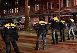 Hollandada sokağa çıkma kısıtlamasının 4üncü gününde protestolar sürüyor