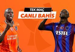 Başakşehir - Trabzonspor maçı Tek Maç ve Canlı Bahis seçenekleriyle Misli.com'da