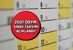 2021 ÖSYM sınav takvimi açıklandı ALES, KPSS, DGS, YDS, YKS başvuru ve sınav tarihleri...