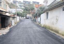 Çukurlar kapatıldı yollar asfaltlandı...