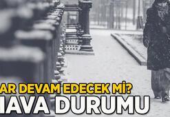 İstanbulda kar yağışı devam edecek mi Meteoroloji son dakika hava durumu İstanbul