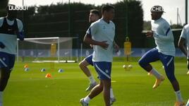 Thiago Silva Chelsea formasıyla ilk antrenmanına çıktı