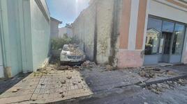 Depremin merkez üssü Yunan adası Sisam'dan ilk görüntüler