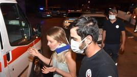 Polisin üzerine otomobilini süren alkollü sürücü kaza yapınca yakalandı