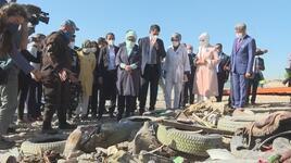 Emine Erdoğan ve Bakan Kurum, Van'daki arıtma tesisini gezdi