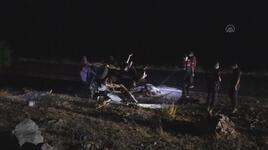Gaziantep'te otomobil devrildi