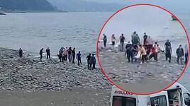 Rize'de dehşet! Denize giren genç boğuldu