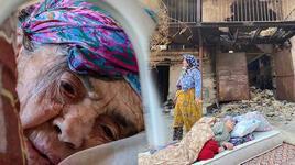 Türkiye'nin yüreğini sızlatan fotoğraftaki kadın, evinin yandığını bilmiyor