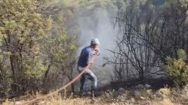 Dursunbey'deki orman yangını kontrol altına alındı