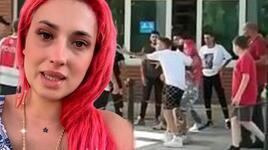 Arnavutköy'de Tiktok fenomenlerinin 'taciz' kavgası!