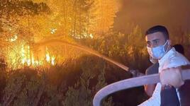 Yangın bölgesindeki görüntüleri tepki çeken CZN Burak'tan açıklama