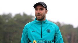 Christian Eriksen'den Inter idmanına ziyaret