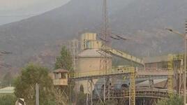 Kemerköy Termik Santrali'ne sıçrayan alevler sabaha doğru etkisini yitirdi.
