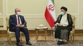 TBMM Başkanı Şentop, İran Cumurhubaşkanı Reisi ile görüştü
