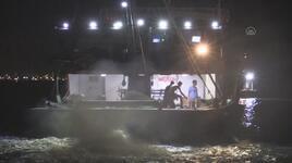 Mersin'de balıkçılar