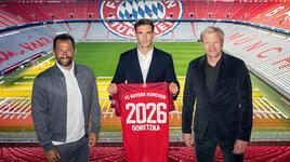 Bayern Münih, Goretzka'nın sözleşmesini uzattı
