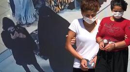 Adana'da yankesici iki kadın tutuklandı