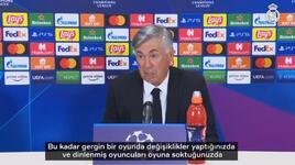Carlo Ancelotti'den oyuncularına övgü