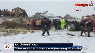 Ankara yolunda katliam gibi kaza: 8 ölü