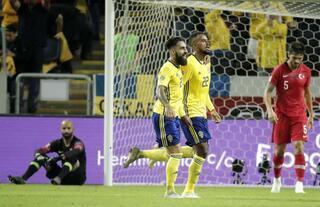 İsveç - Türkiye maçından fotoğraflar