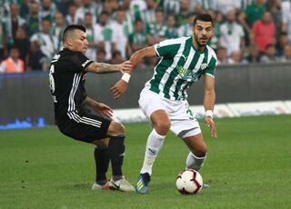 Bursaspor - Beşiktaş maçından kareler