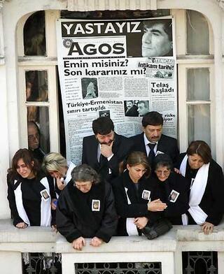 Hrant Dinkin cenaze töreni