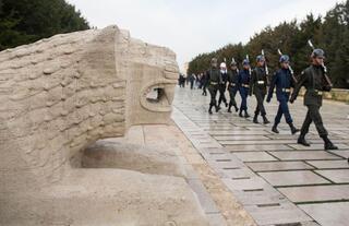 Anıtkabir askerlerinin sırrı